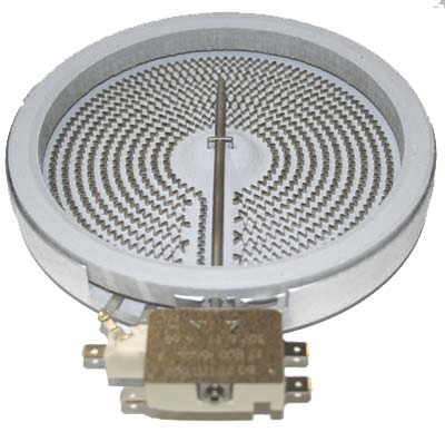 PLACA RADIANTE VITROCERAMICA 200MM 1800W