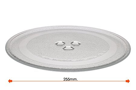 PLATO MICROONDAS DAEWOO BALAY 255mm anclaje 12