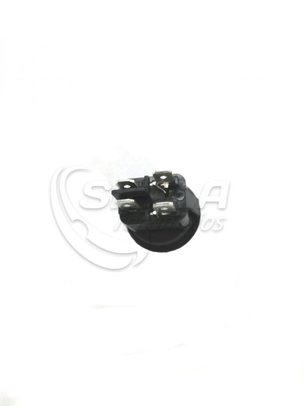 Interruptor redondo vitrina expositora 4 contactos