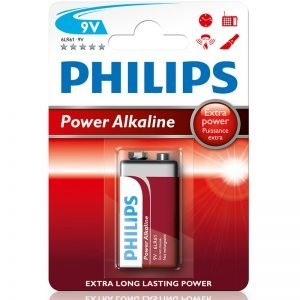 PILA PHILIPS RECTANGULAR 9V