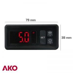 TERMOSTATO -55+99ºC AKO -D14123 CON SONDA NTC